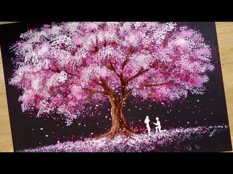 Esponja De Bano Tecnica De Pintura Con Hisopo De Algodon Como Dibujar Pareja Romantica Youtube Tecniche Di Pittura Spugne Da Bagno Dipingere Fiori