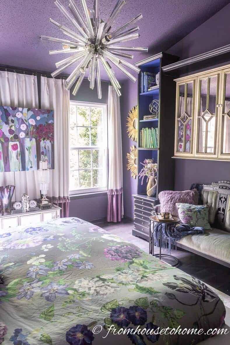 Purple Bedroom Decorating Ideas Create