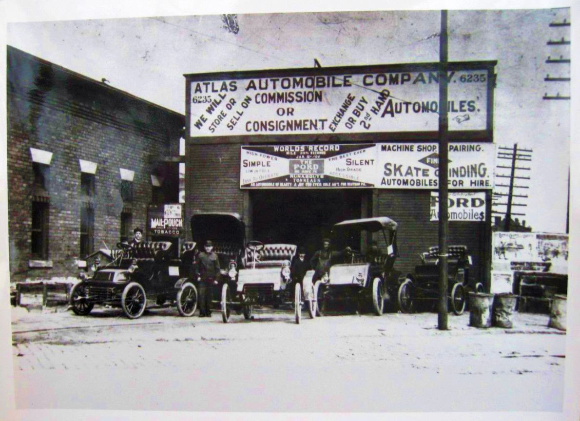 Model T Ford Forum Old Photo Early Brass Era Ford Dealership