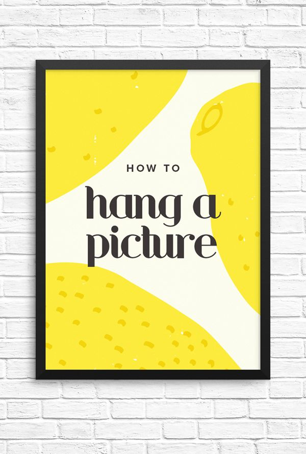 Design hack! There\'s a perfect height for hanging pictures | Hanging ...