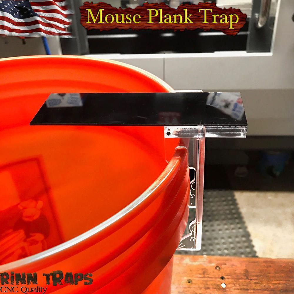 Plank Mouse Trap Auto Reset Walk The Mousetrap Rodent
