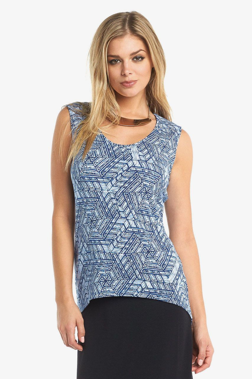 Remy Top in Scribble Geo