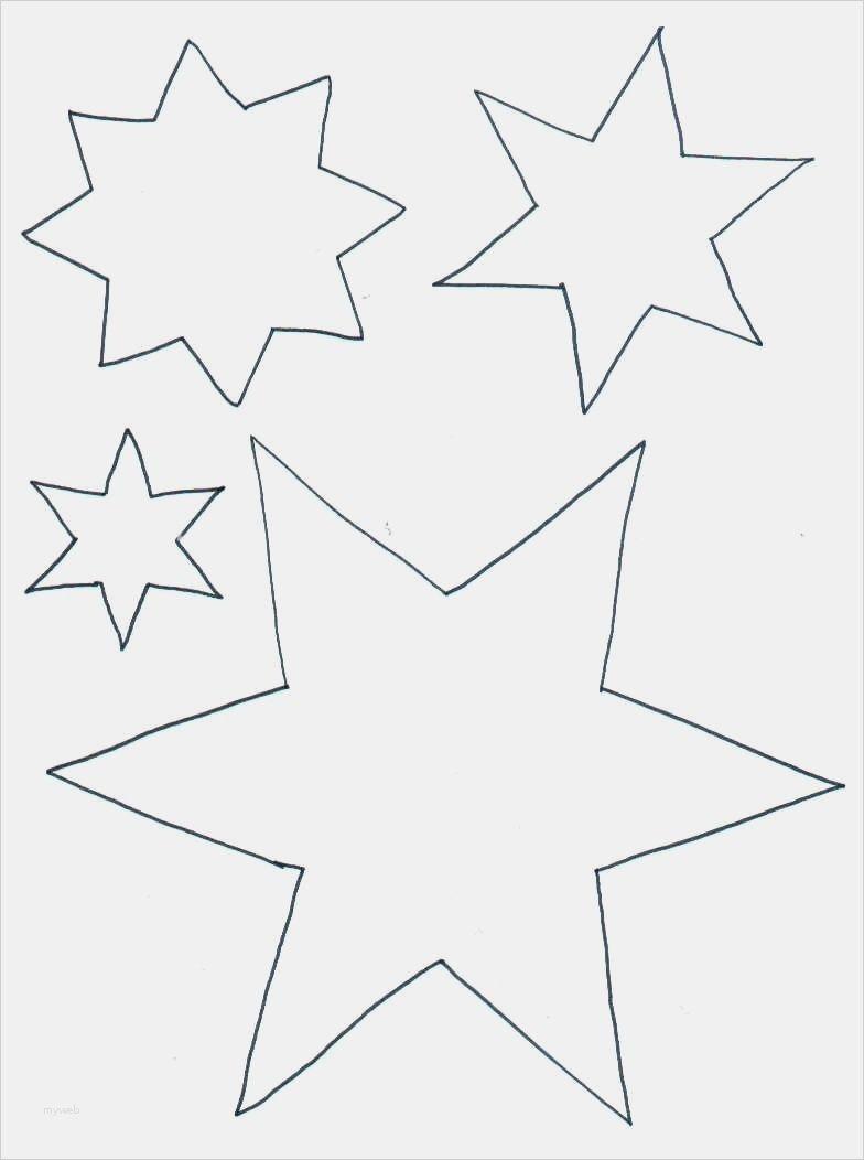 Stern 5 Zacken Vorlage Best Of Ausmalbilder Sterne Vorlage Ideen