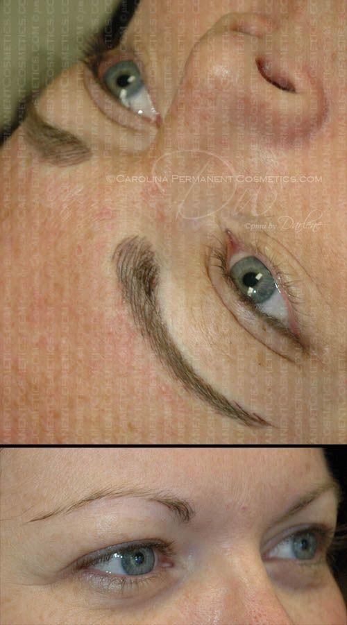 704 796 8221 Natural Looking Permanent Eyebrows Charlotte Nc