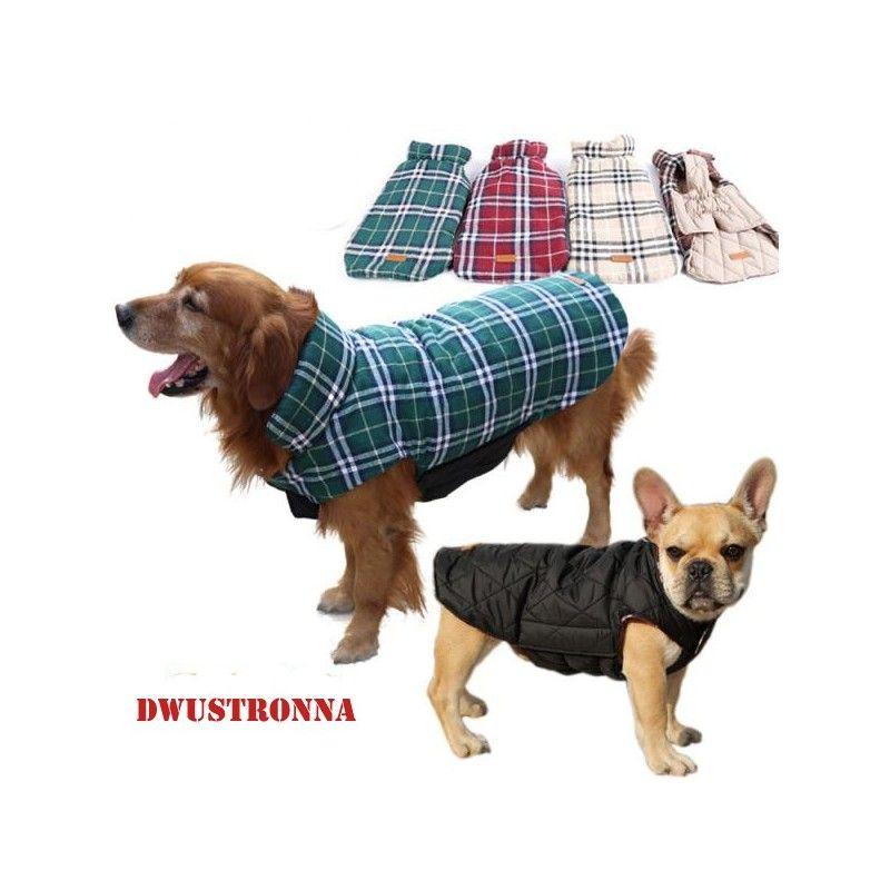 Kurtka Dla Psa Na Zime Dwustronna L 3xl Rozmiar 2xl Kolor Bezowy Waterproof Dog Coats Dog Winter Coat Large Dog Clothes