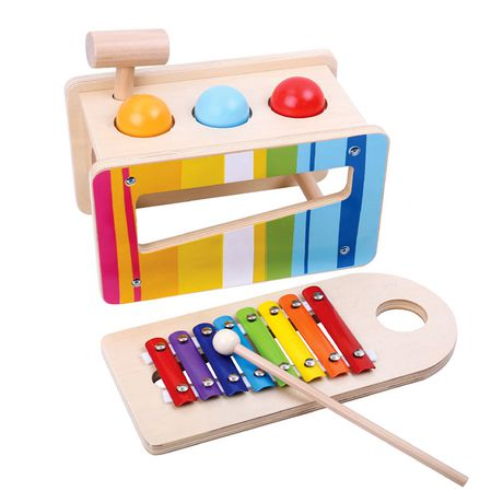 Tooky Toy Wooden Pound And Play Set Products In 2019