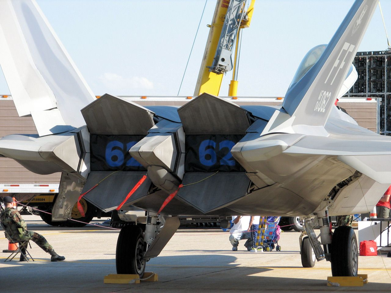 F22A Raptor Afterburner Exhaust Nozzle System 航空