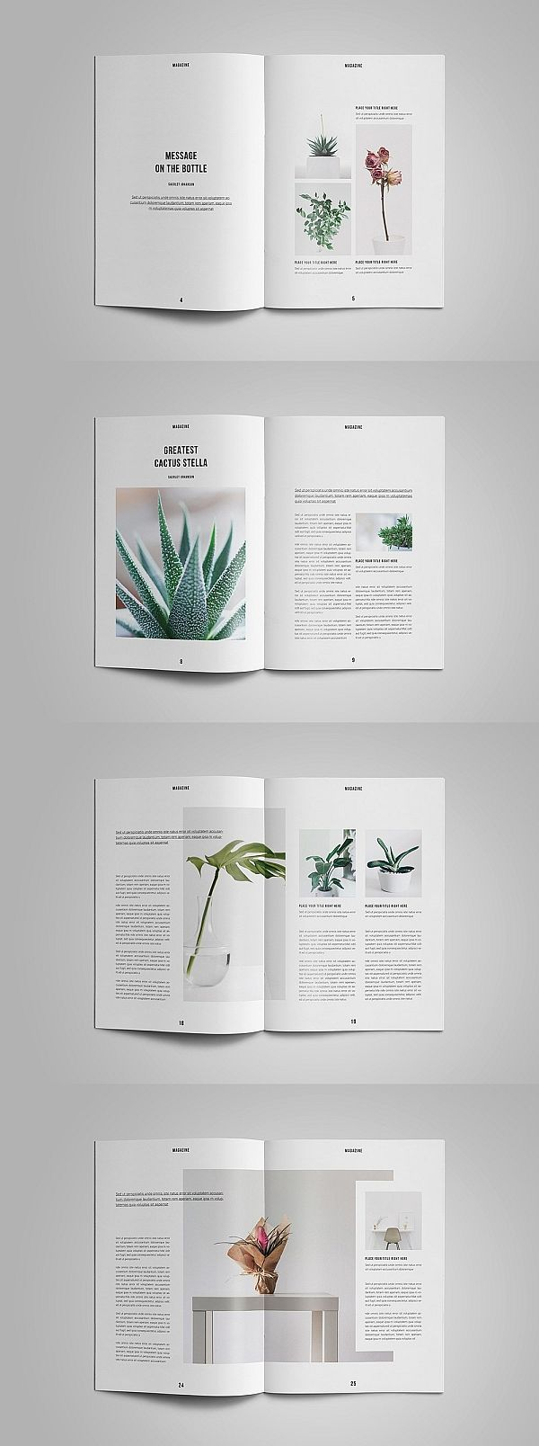 Nature Magazine #editoriallayout