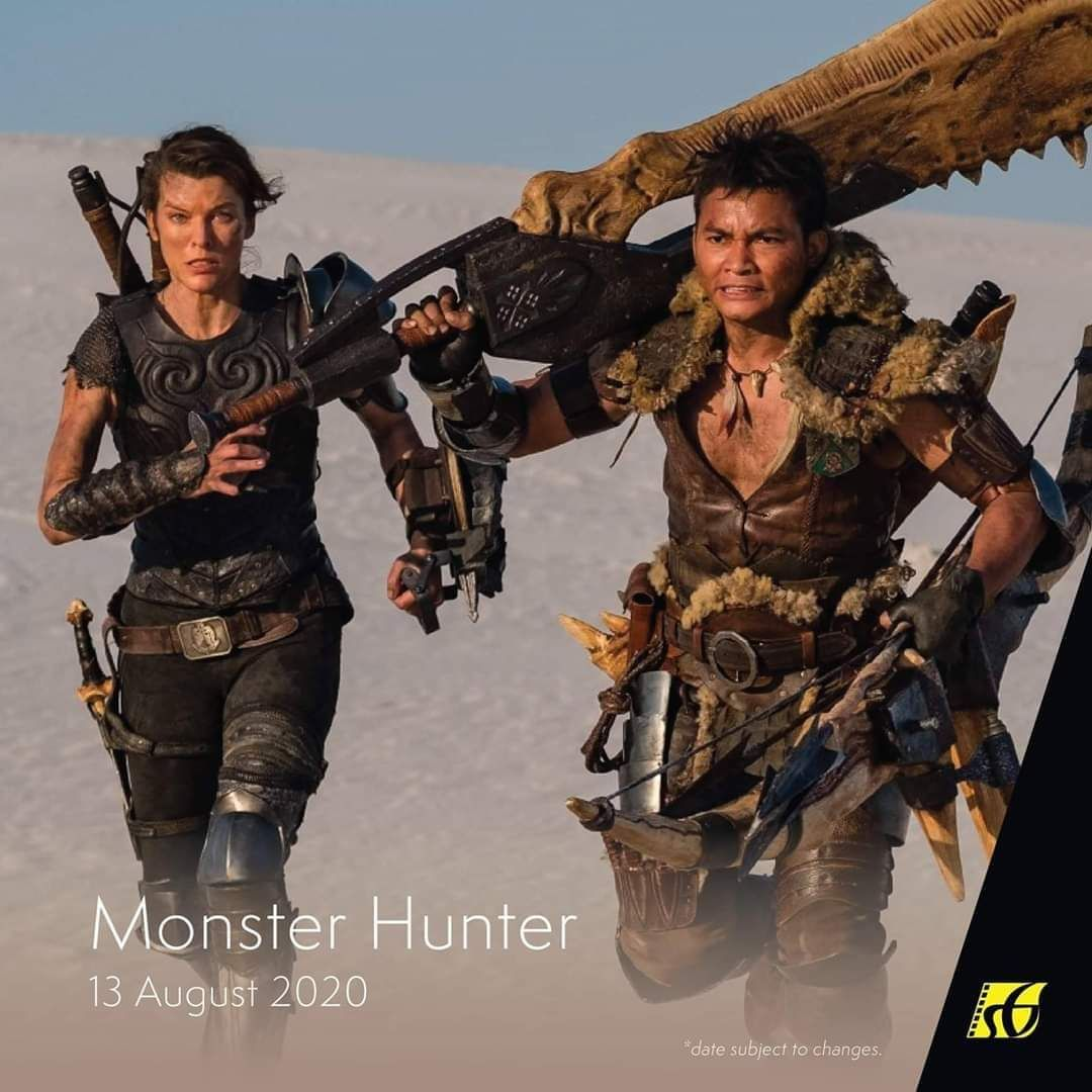 Monster Hunter Upcoming Hollywood Movies In 2020 Monster Hunter Prints Free