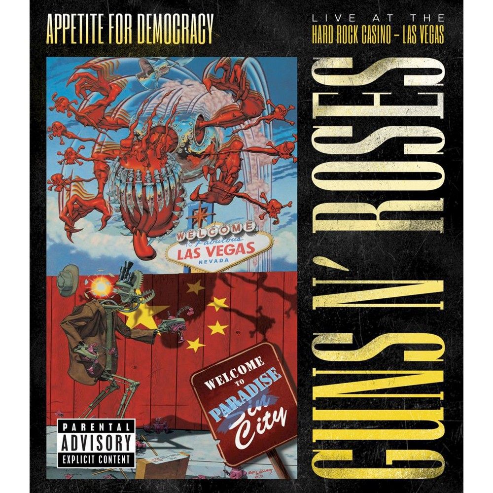 Guns N' Roses Appetite for Democracy 3D Live at the