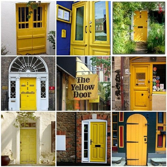 Best 25+ Yellow doors ideas on Pinterest | Yellow front ...