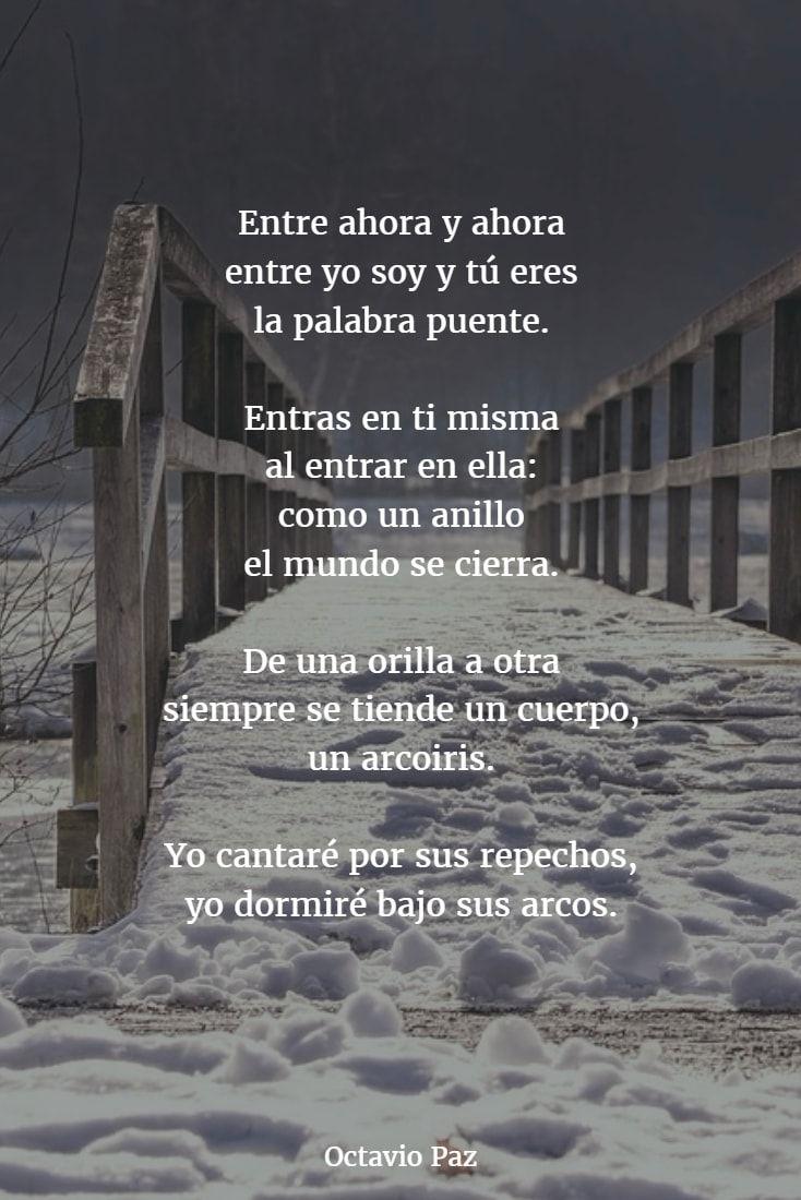 Poemas De Octavio Paz 11 Octavio Paz Poemas Poemas De Motivacion Citas De Poesía