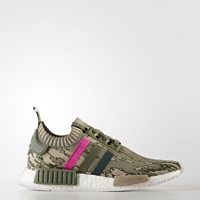 7858d8d18 Adidas NMD R1 St Major Green Night Shock Pink BY9864