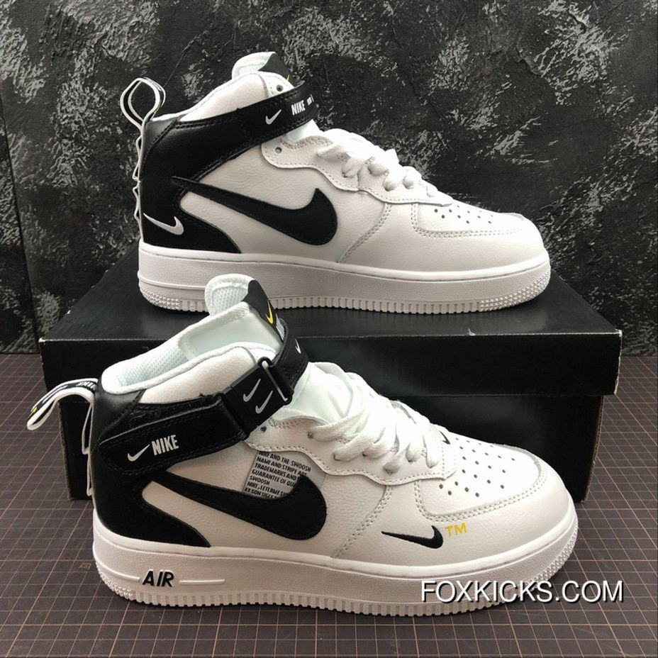timeless design 7610a b4202 ... Shoes Discount Key  2518656065. Nike Air Force One Mid Utility Mid Top  Casual Sneaker Aj7747-100 Size Best