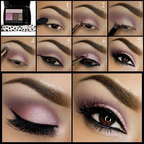 27 Pretty Makeup Tutorials for Brown Eyes - Pinterest #prettymakeup