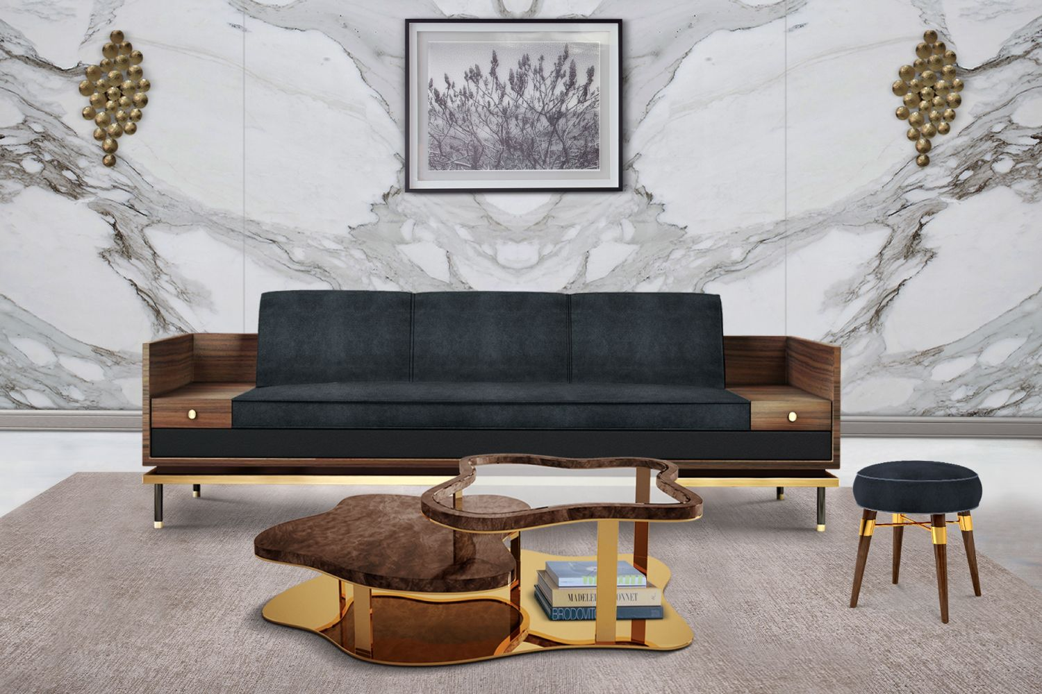 Marina modern center table by malabar center table living rooms marina modern center table by malabar geotapseo Image collections