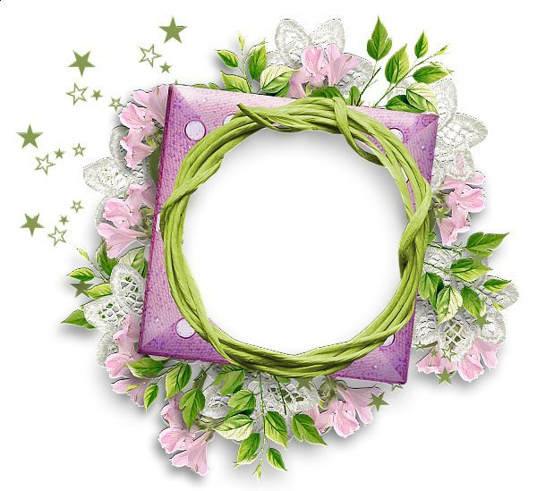 Image result for frame floral png rosa