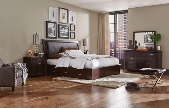 Lincoln Park Queen 2 Side Storage Bed | Home projects | Bed ...