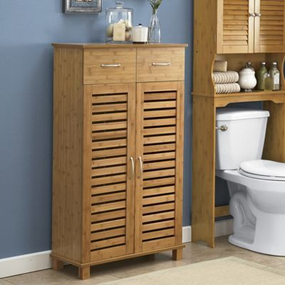 28+ Bathroom storage cabinets bamboo custom