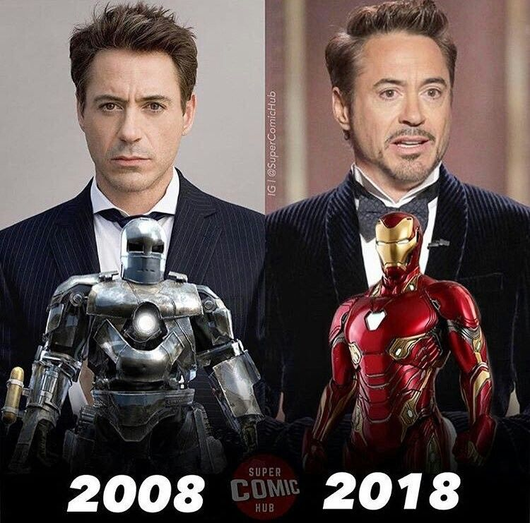Iron Man Movie, Marvel Superheroes