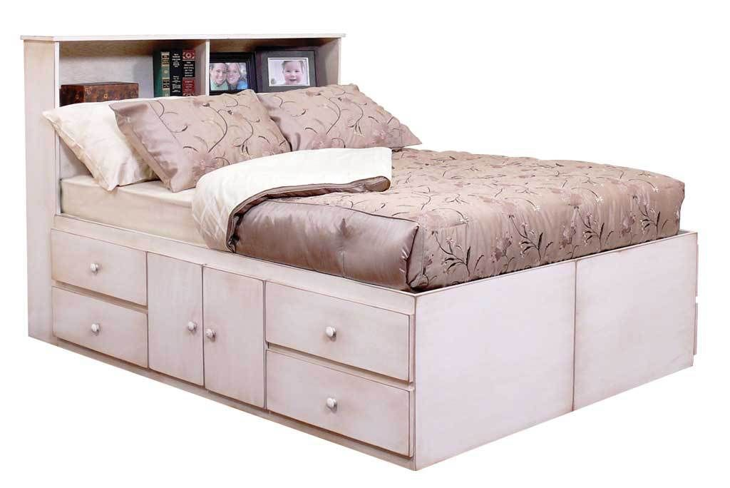 Gothic Cabinet Craft - Queen Storage Bed with 10 Drawers | new ...