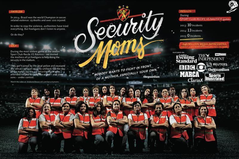 Security Moms Sport Clube Do Recife Ogilvy Brasil Gold Cannes