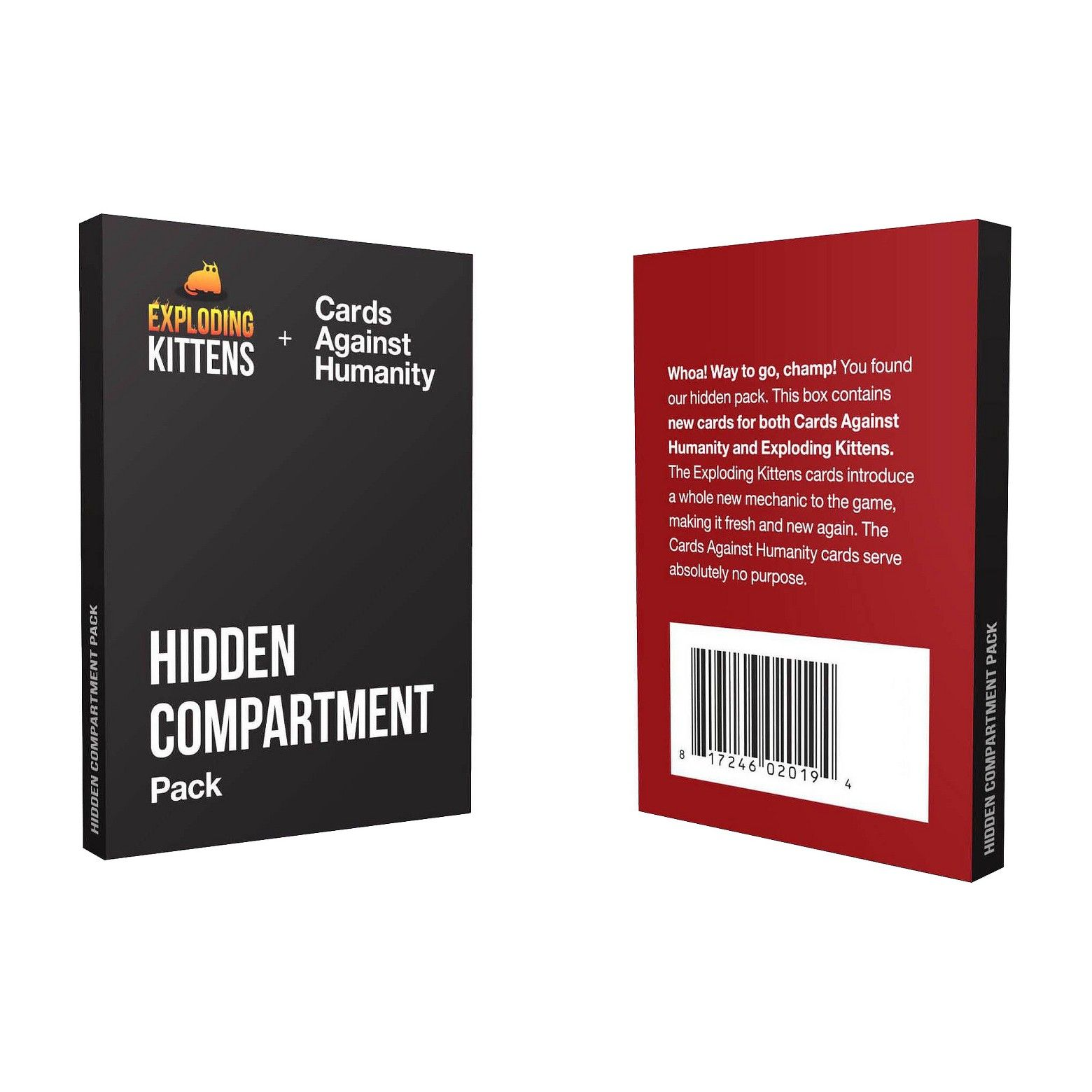Hidden Compartment Pack Game Hidden Compartments Packing Compartment