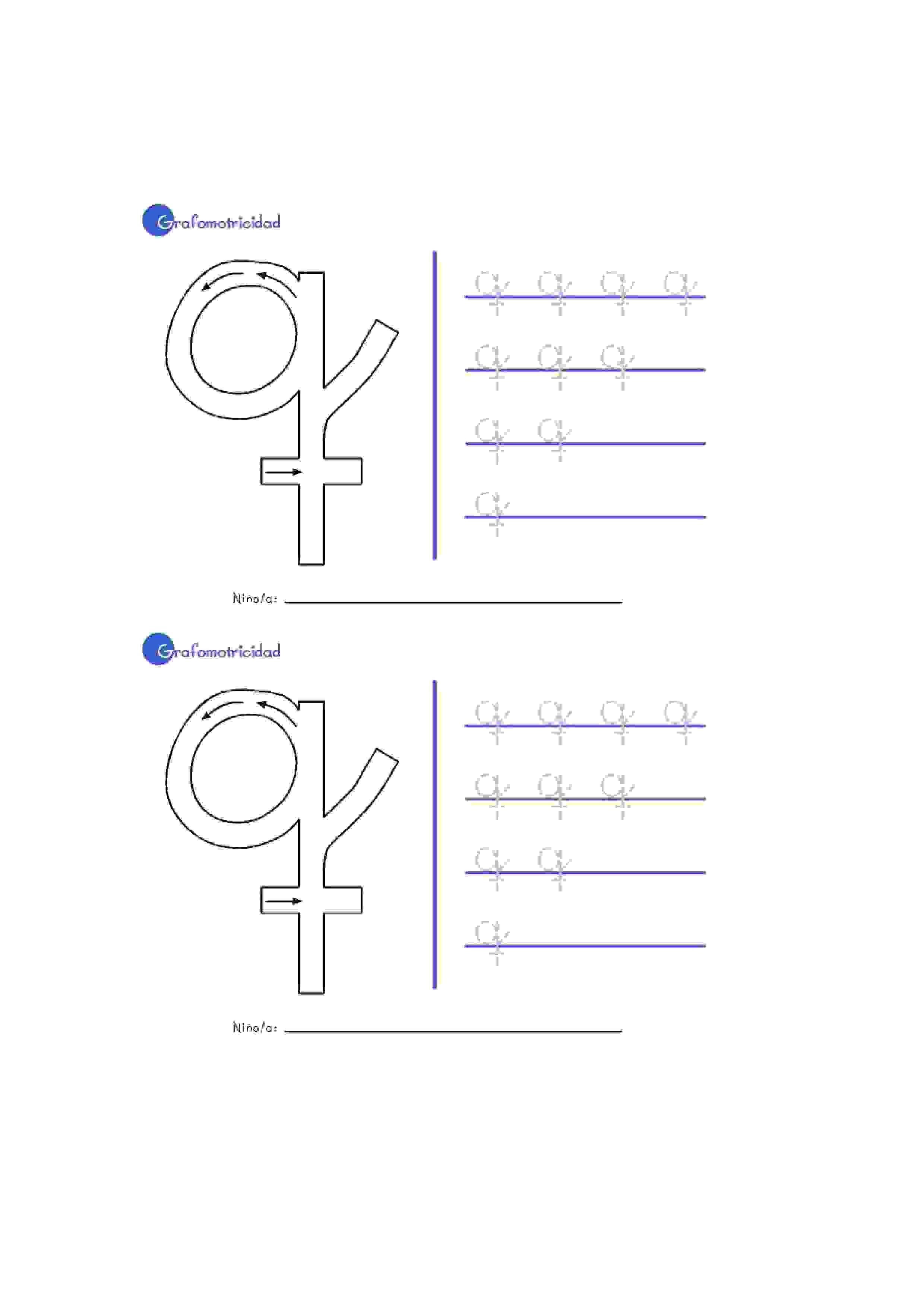 Lernübungen für kinder zu drucken. Feinmotorik mit Alphabet Spanisch ...