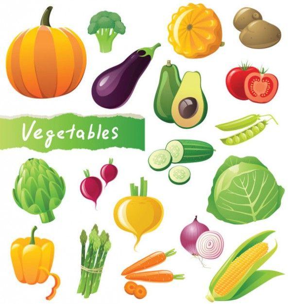 Dibujos de frutas y verduras a color - Imagui | VEGETALES ...