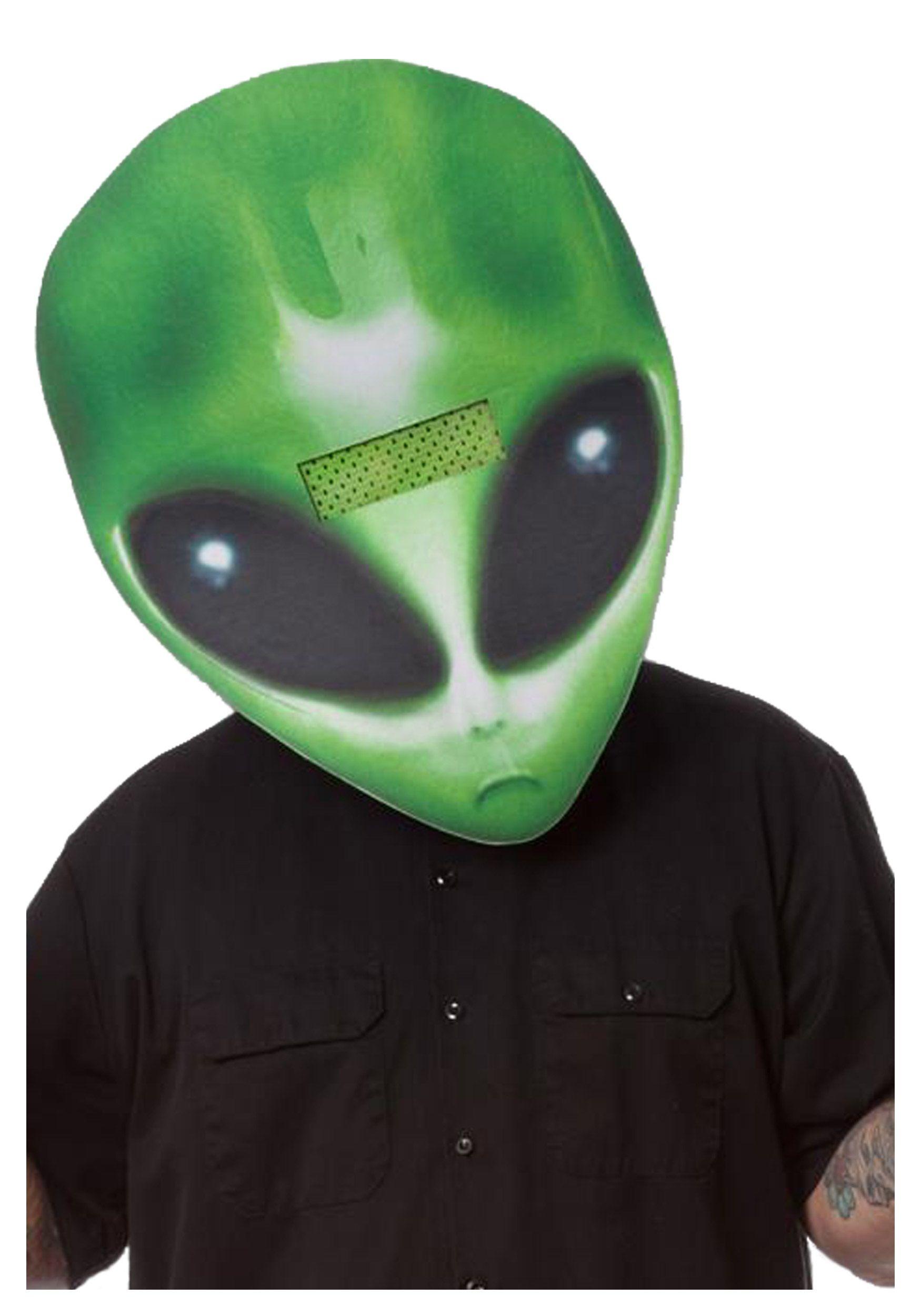 Alien Head Costume   Alien Face Big Head Mask   Stuff to Buy ...