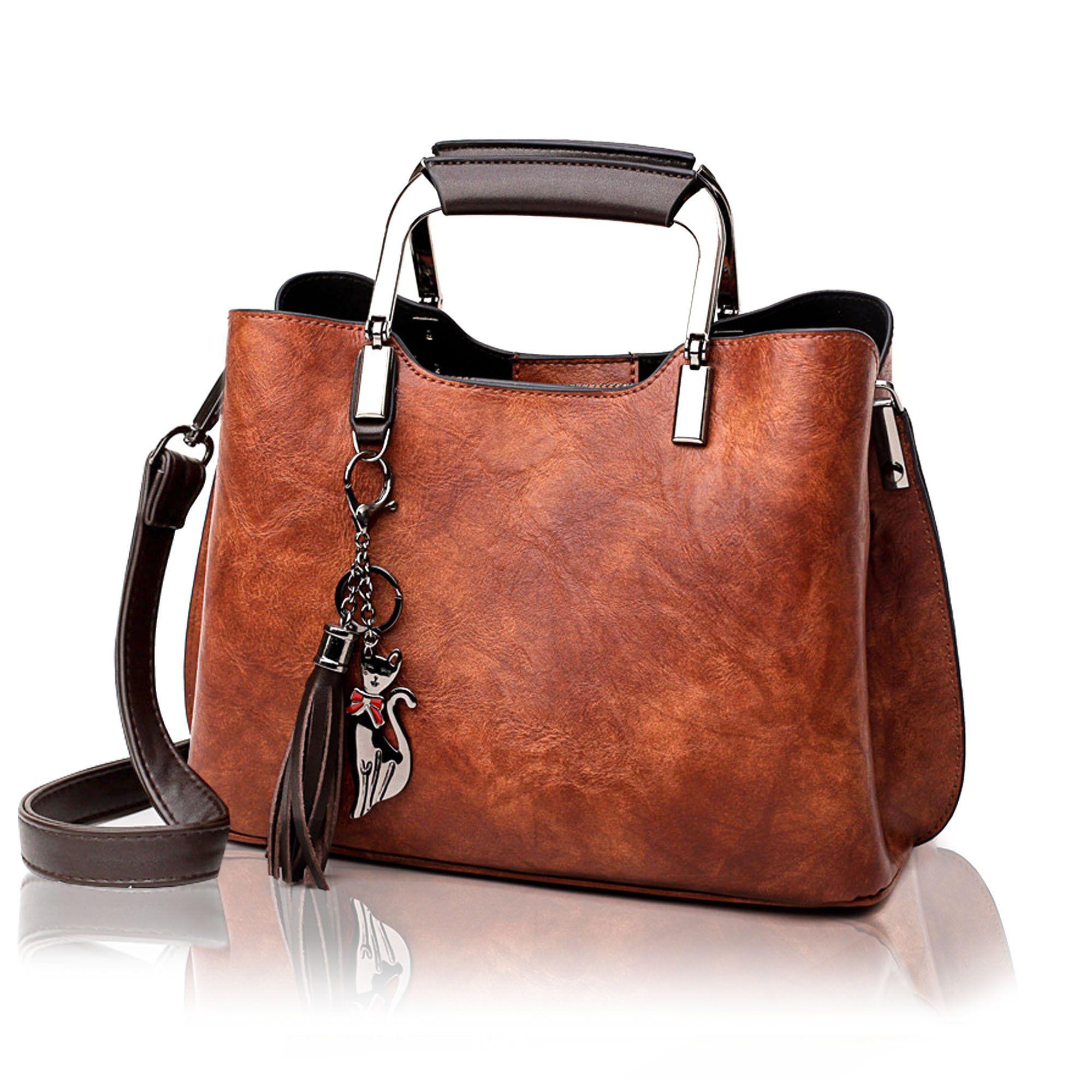 df88e7c17306 👜 78.88 🔜 rofozzi  Genuine Leather Handbag and Purse for Women - Ladies  Top-Handle and Crossbody Bag with Tassle  rofozzi  bag  shoppingday   shopnow ...