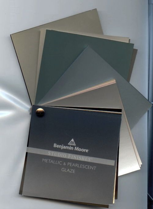 Jam Best Paints Right Now Are Hening From Benjamin Moore Studio Finishes Metallic Pearlescent Glaze