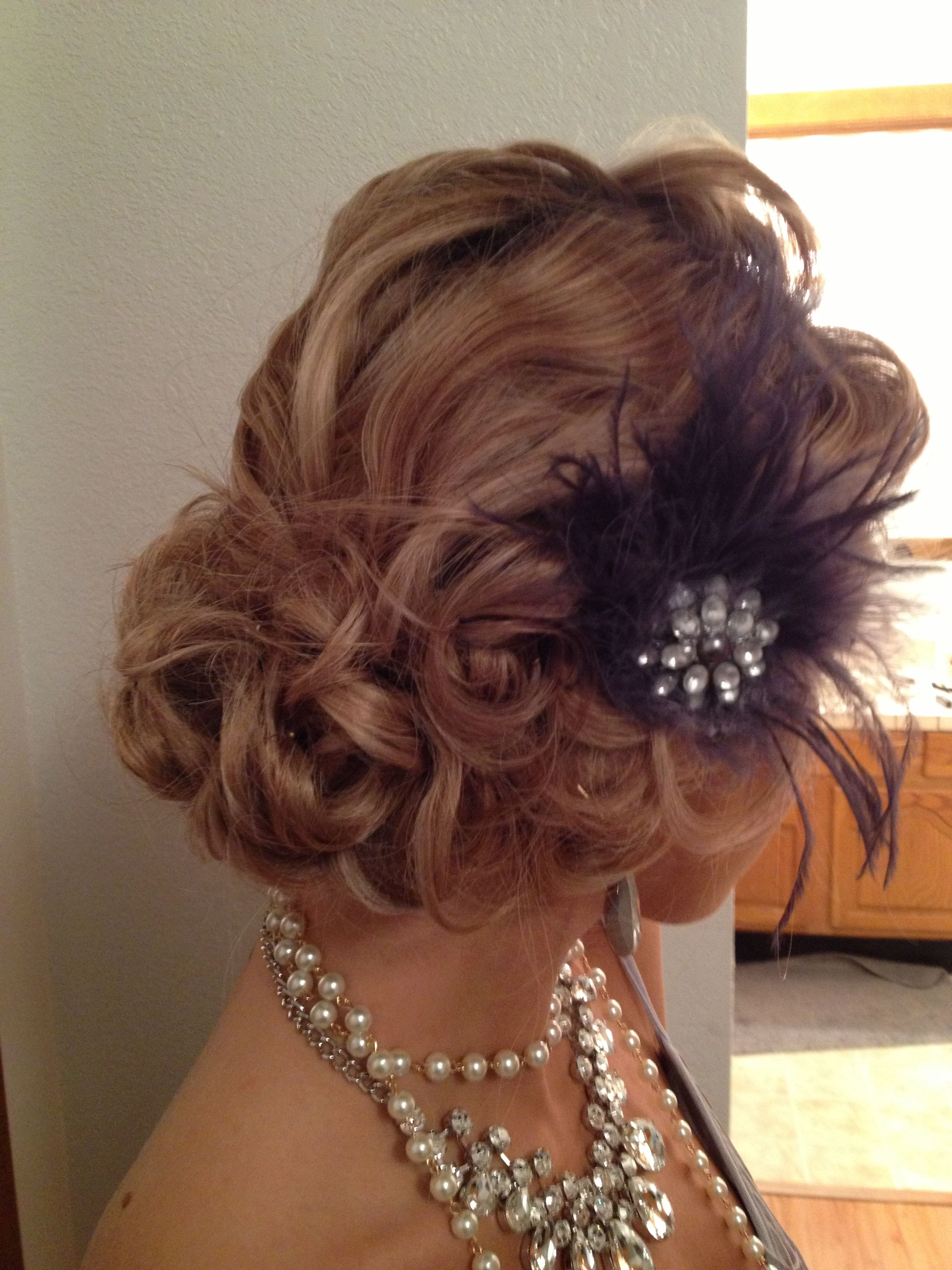 vintage 1920's updo | beauty | gatsby hairstyles for long