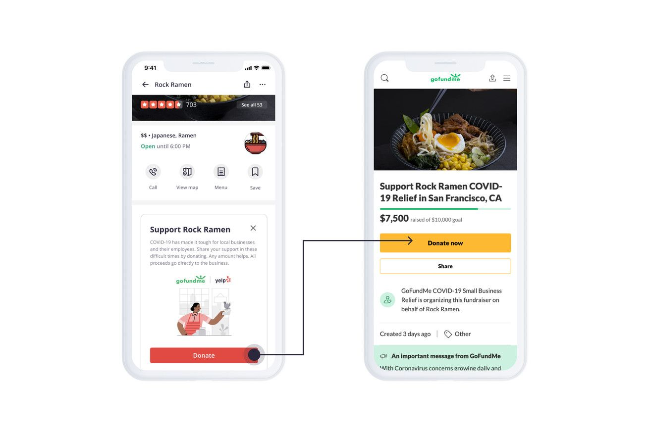 Yelp Is Adding Donate Buttons For Local Businesses Promises To Match First 1 Million Fundraising What Is