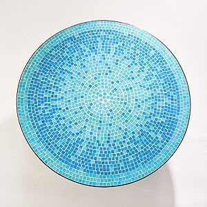 Superior Turquoise Mosaic Bistro Table From World Market