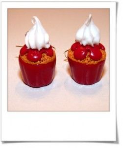 How to whipped cream tutorials miniature food frosting decorations pinterest fimo - Faire une chantilly maison ...