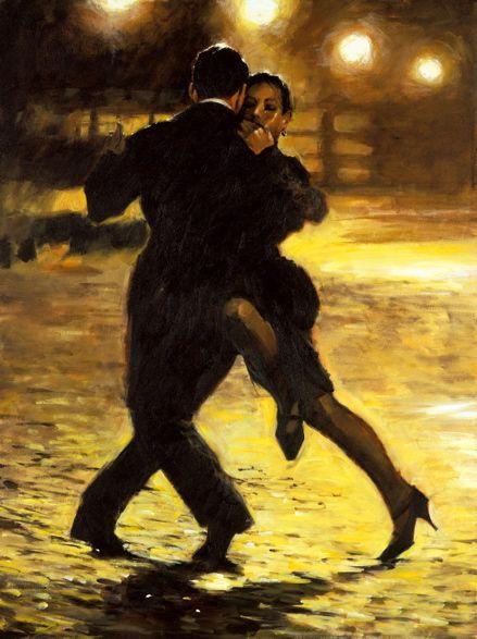 Tango and cobblestones, Aldo Luongo