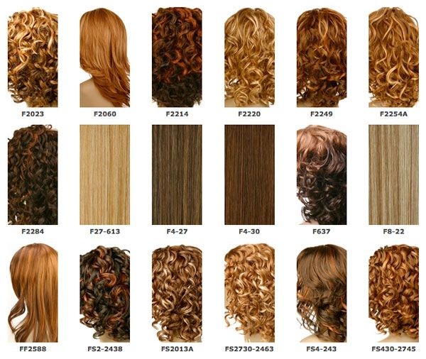 Honey Blonde Hair Color Chart  Hair Stufff    Honey