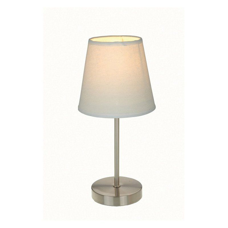 Simple designs table lamp 11 5h in white shade from hayneedle