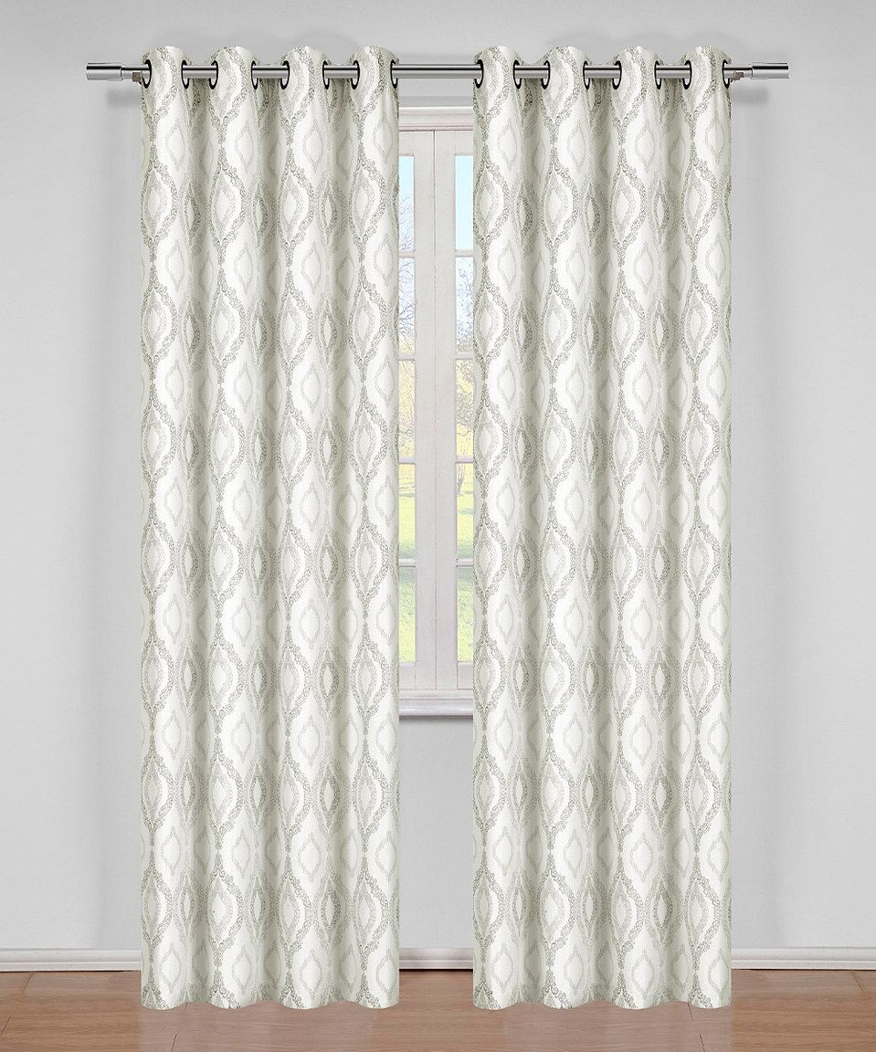 Another Great Find On Zulily Taupe Julep Curtain Panel By