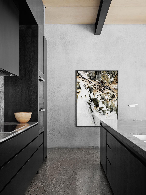 Flack studio bendigo residence kitchens kitchen design kitchen modern kitchen design for Fine design kitchens bendigo