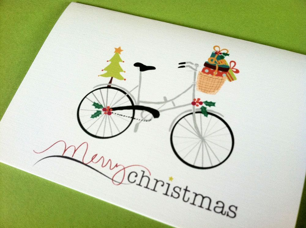 Christmas Card, Holiday Cards, Set of 10 cards Cards, Note cards