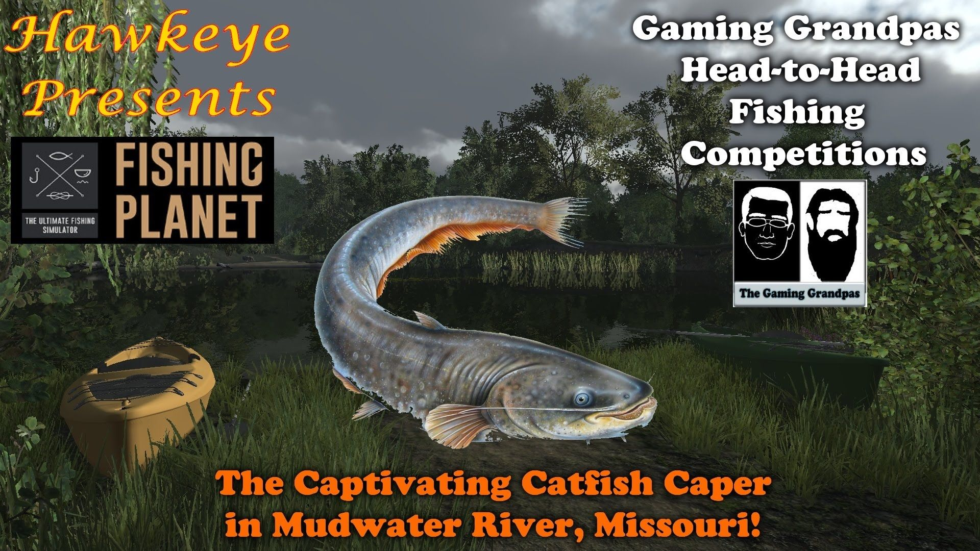 Fishing Planet GG Competitions Ep. #2: The Captivating Catfish Caper in ...