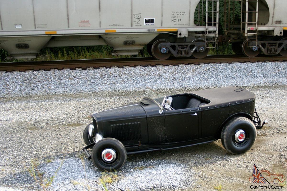 1932 Ford Phaeton Hiboy Roadster Original Henry Steel Traditional