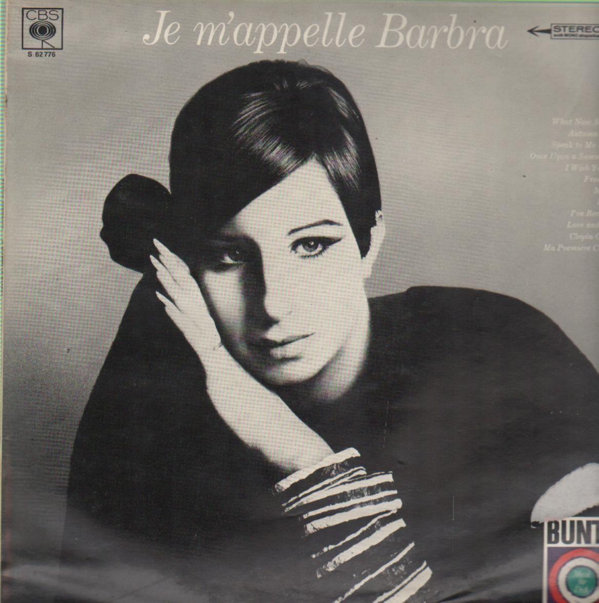 Je m'appelle Barbra 1966