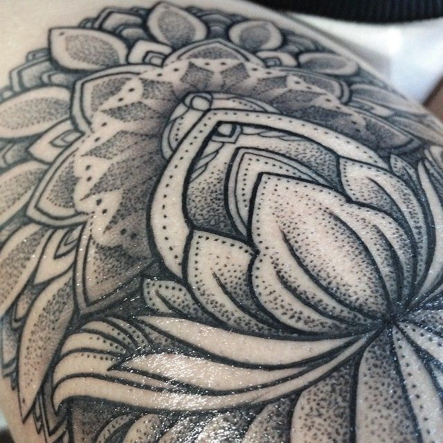 Sashatattooing Stippling Tattoo Tattoos Tattoo Shading