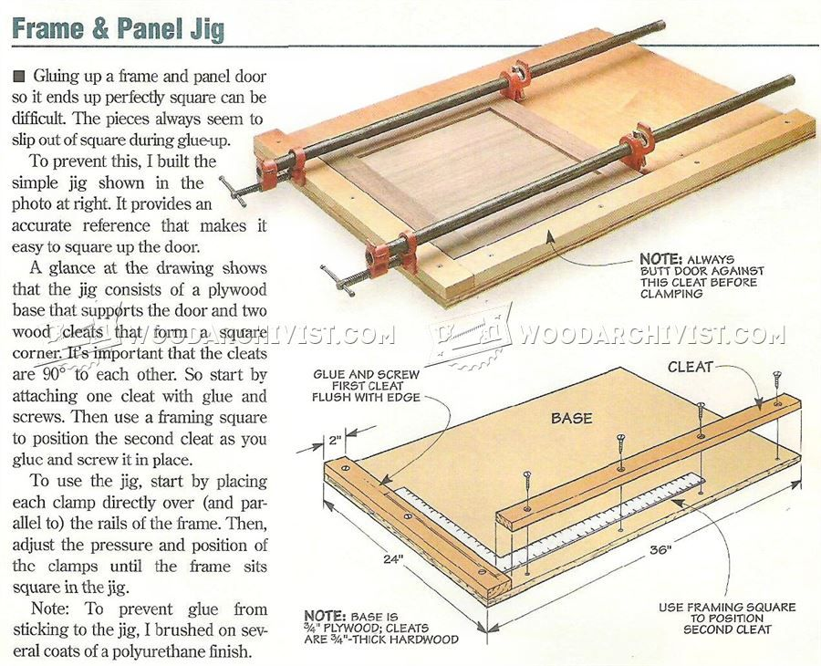 Door Jigs & In This Set Of Free Woodworking Plans Learn How To ...