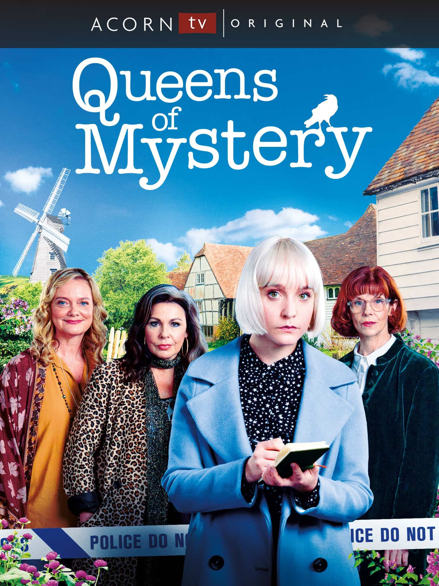 Queens Of Mystery Streaming On Acorn Tv With Images Mystery