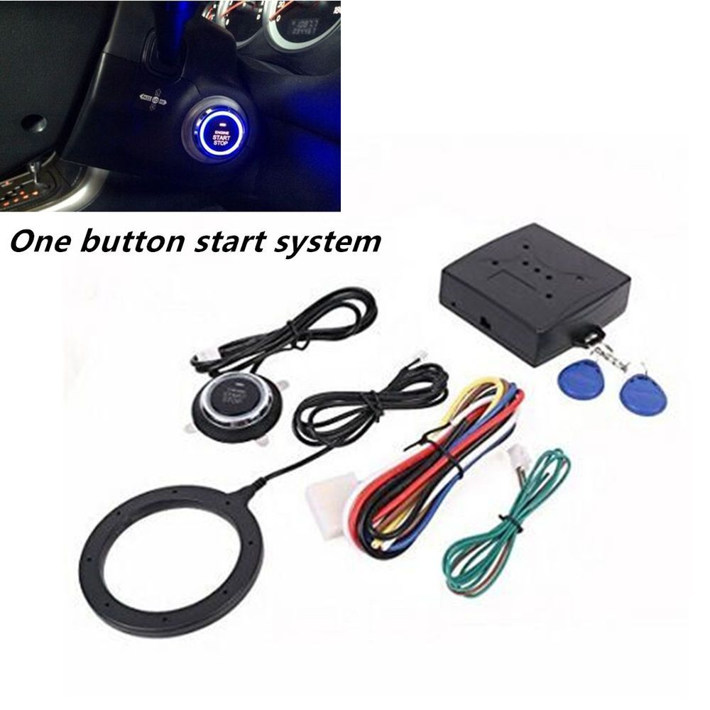 Rfid Car Engine Push Starter Is Easy To Install And Use Can Start
