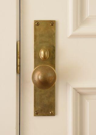 Antique brass front door knobs Door Levers Brass Knoblove This Vintage Revivals Brass Knoblove This Details Pinterest Doors Door Knobs